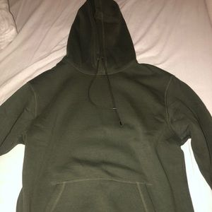 Never worn H&M Olive green hoodie